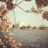 Photo taken at Tidal Basin by Travis H. on 4/10/2013