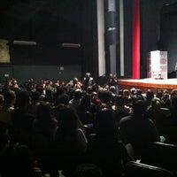 Photo taken at Teatro Municipal de Limeira by Bruno C. on 9/28/2012