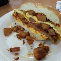 Photo taken at Binghamton Bagel Cafe by Rishard C. on 5/30/2013