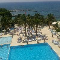 Photo taken at Imbat hotel by Başak D. on 7/12/2013