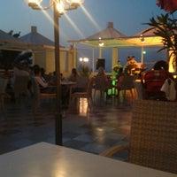 Photo taken at Imbat hotel by Başak D. on 7/10/2013