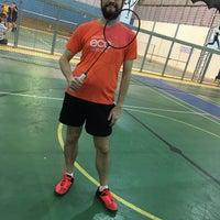 Photo taken at Neusa Basseto Badminton by Pedro L. on 10/5/2017
