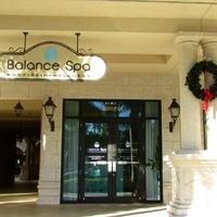 Photo taken at Balance Spa by Balance Spa on 12/10/2014