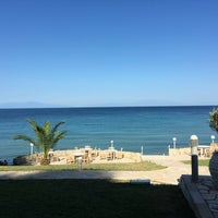 Photo taken at Elani Bay Resort by Sakis T. on 7/8/2016