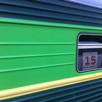 Photo taken at Поезд 080 Москва-Берещино by Evgeniya M. on 7/9/2013