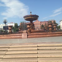 Photo taken at Большой Фонтан by Kurganovaa K. on 7/6/2016