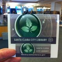 Photo taken at Santa Clara City Library by TS on 9/30/2012