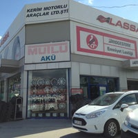 Photo taken at Kerim Motorlu Araçlar Ltd. Şti by Ecem O. on 9/4/2013