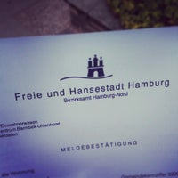 Photo taken at Kundenzentrum Barmbek-Uhlenhorst by Vanessa on 7/28/2014