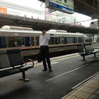 Photo taken at JR Takatsuki Station by ぼん ゆ. on 6/14/2013