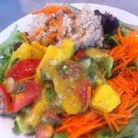 Photo taken at Jivamuktea Café by Derek G. on 5/31/2013