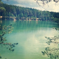 Photo taken at Голубые Озера / Blue Lakes by Yarik T. on 6/9/2013