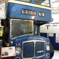Photo taken at Museum of Transport, Greater Manchester by cody k. on 5/18/2013