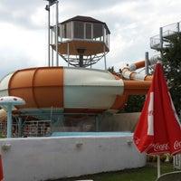 Photo taken at sapanca aqua Park by talha c. on 7/12/2014