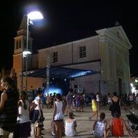 Photo taken at Trg Slobode by Viliam R. on 8/8/2013