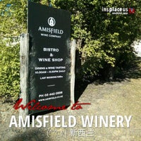 Photo taken at Amisfield Winery by Eve H. on 3/20/2013