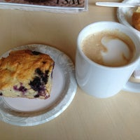 Photo taken at Mystic Coffee Roaster by Christopher R. on 5/25/2013