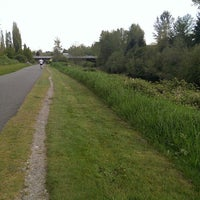 Photo taken at Sammamish River Trail by Jen S. on 4/27/2013