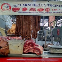 Photo taken at Carniceria y Tocineria Cortes by Carmen C. on 4/18/2015