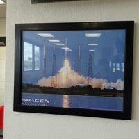 Photo taken at SpaceX by Karthik S. on 11/8/2012