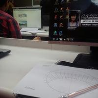 Photo taken at Facultad De Arquitectura Universidad Mayor by enrique m. on 6/2/2014