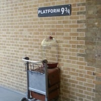 Photo taken at Platform 9¾ by Steph S. on 2/8/2013