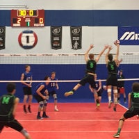 Photo taken at Great Lakes Volleyball Center by Mike C. on 6/14/2015