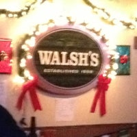 Photo taken at Walsh's Bar & Grill by Mike C. on 12/8/2012