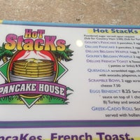 Photo taken at Hot Stacks Pancake House by Bill M. on 12/28/2013