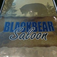Photo taken at Black Bear Saloon by Bill M. on 1/31/2013
