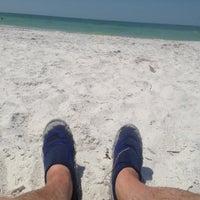 Photo taken at Treasure Island Beach by Bill M. on 5/10/2013