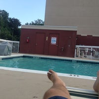 Photo taken at Homewood Suites Pool by Bill M. on 8/28/2013