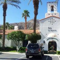 Photo taken at Spa La Quinta by Rachel M. on 10/12/2013