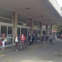 Photo taken at Stazione Bergamo by Roberto L. on 10/5/2012
