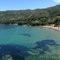 Photo taken at Spiaggia Di Straccoligno by Lisa C. on 6/2/2013