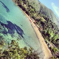 Photo taken at Spiaggia Di Straccoligno by Elba V. on 6/2/2013