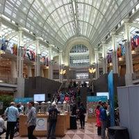 Photo taken at Ronald Reagan Building & International Trade Center by Martin K. on 4/22/2017