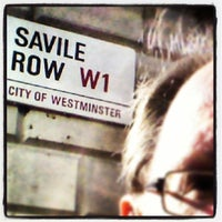 Photo taken at Former Apple Records Savile Row HQ by Martin K. on 2/26/2014