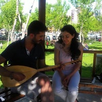 Photo taken at Saray Bosna Parkı by Ayca H. on 5/26/2013