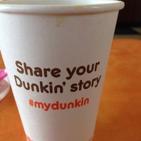 Photo taken at Dunkin' Donuts by Sofia G. on 2/25/2014