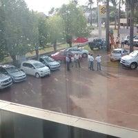 Photo taken at estacionamento BB by Rodrigo C. on 2/13/2014