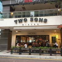 Photo taken at Two Sons Bistro by Mohd Zulazreen M. on 6/5/2017