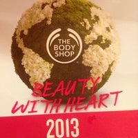 Photo taken at The Body Shop by Tri Susanti on 1/30/2013