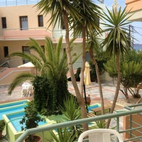 Photo taken at Calypso Hotel-Apartments by Knut S. on 9/6/2013