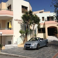 Photo taken at Calypso Hotel-Apartments by Knut S. on 9/12/2013