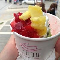 Photo taken at YOGU Premium Frozen Yogurt by Stelios T. on 5/28/2013