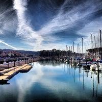 Photo taken at SF Marina Yacht Harbor by Leonardo S. on 11/15/2012