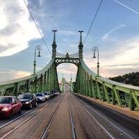Photo taken at Liberty Bridge by Leonardo S. on 6/8/2013