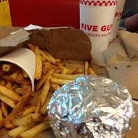 Photo taken at Five Guys by Sulaiman A. on 10/23/2014