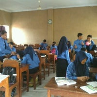 Photo taken at SMA PGRI 1 Jombang by octavino d. on 1/27/2014